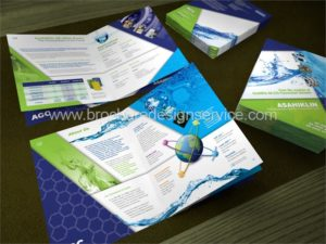 Chemical Brochure – Design of an 8-Page Booklet for a Chemical Product Line