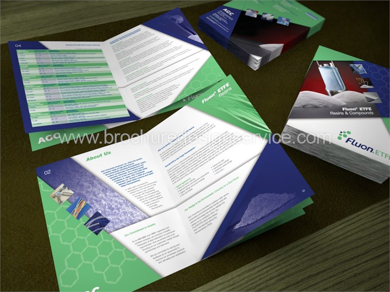 Industry Brochure – Design of an 8-Page Industry Brochure