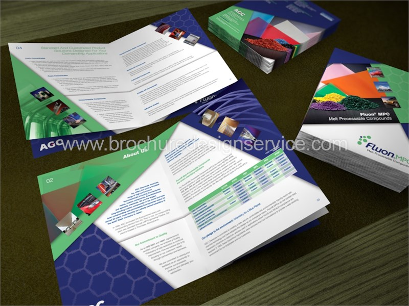 Chemical Product Brochure – Design and Printing Services