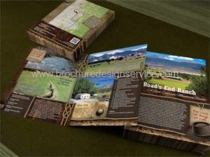 Property Brochure – Design and Printing of a Property Brochure